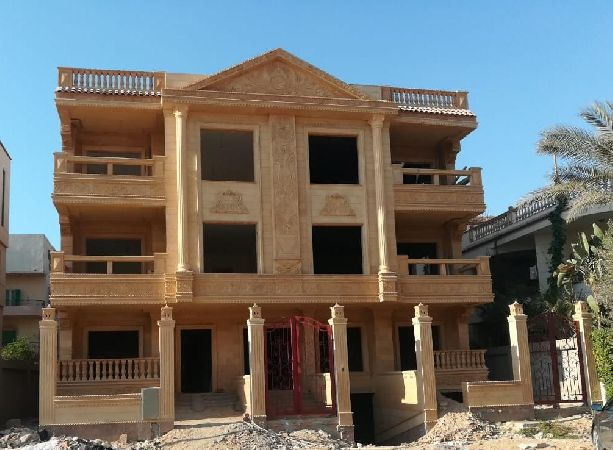 Semi-Finished Duplex For Sale With Garden 120m ,New Cairo ,Elyassmen