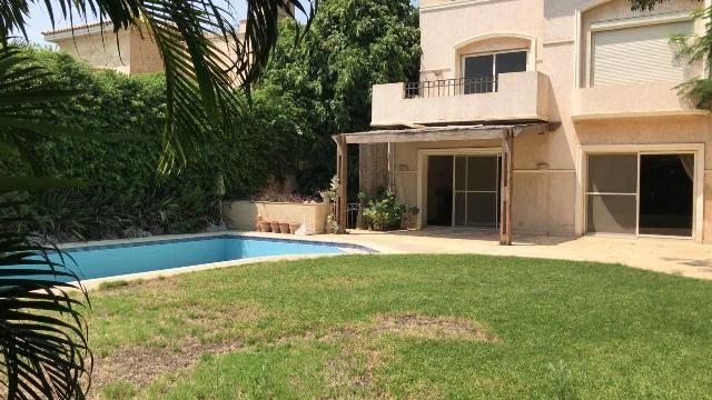 Semi-Furnished Villa for Rent in Arabella Compound