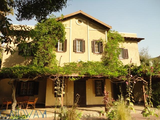 Unfurnished Villa for Rent in Maadi Sarayat with Private Garden