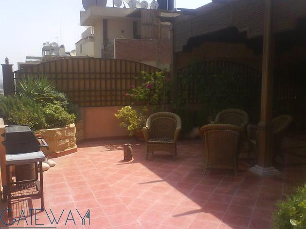 Furnished Penthouse for Rent in Maadi Degla