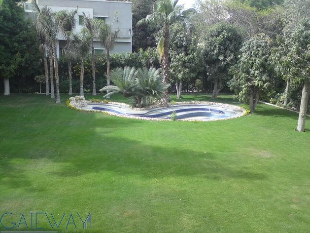 Unfurnished Villa  for Rent in Maadi Sarayat With Private Garden - Swimming Pool