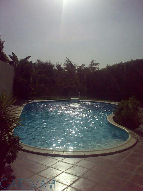 Semi-Furnished Twin House For Rent in Arabella Compound with Garden & Swimming Pool