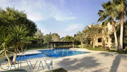 Fully Furnished Villa for Sale in Cairo Alex Road - inside compound with Private Garden & Swimming P
