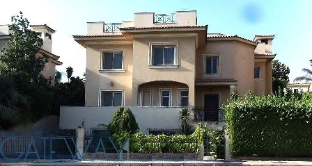 Semi-Furnished Villa for Sale in Katameya Heights with Private Garden Close to Golf Course.