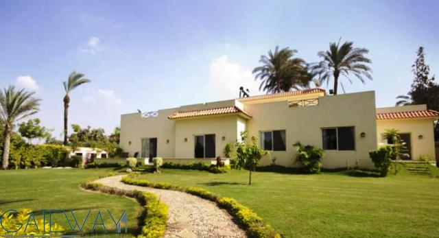 Ultra Modern Furnished Villa for Sale in Mansoreya with Private Garden.