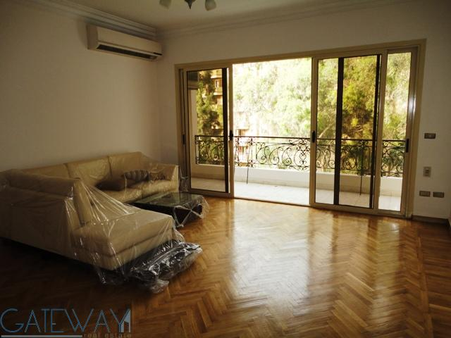 (Ref:2592) Semi-Furnished Apartment for Rent in Maadi