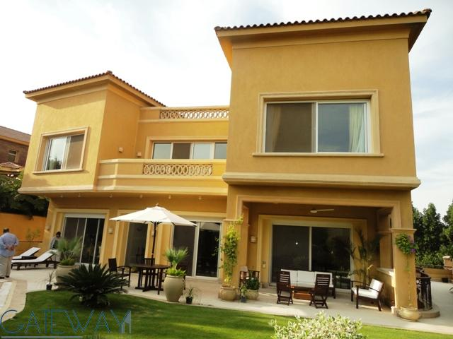 Furnished Villa for Rent in City View with Private Garden & Swimming Pool