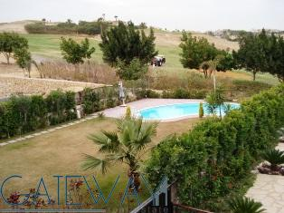 Semi-Furnished Villa for Rent in Katameya Heights - Golf Area with Private Garden & Swimming Pool.