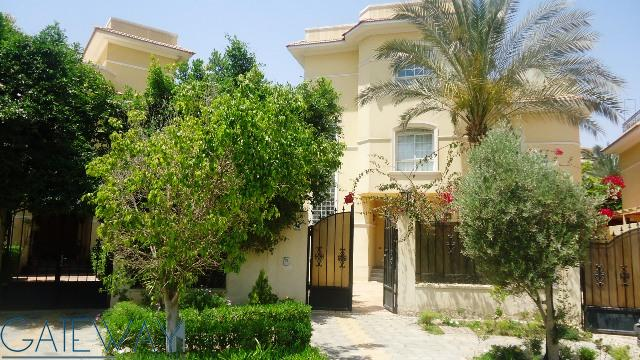 Fully Furnished Villa for Rent in Jasmine Green land Compound with Swimming Pool View.