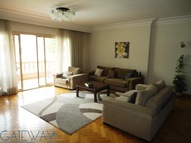 (Ref:3226) Semi-Furnished Apartment for Rent in Maadi Royal Gardens