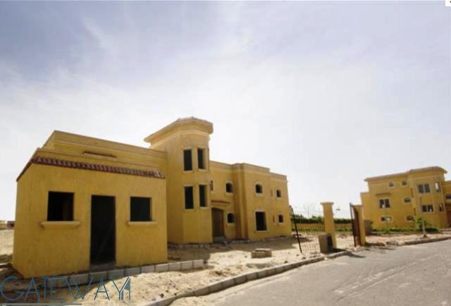 Unfinished Villa for Rent in Wadi El Nakheil with Private Garden.