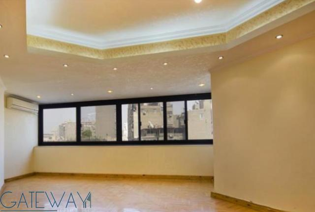 Semi-Furnished apartment for Rent / Sale  in Zamalek with Nile & Greens view.