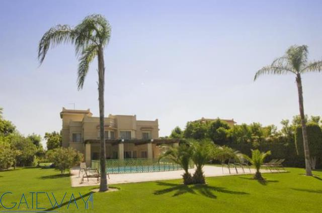 Finished Villa  for Sale in Wadi El Nakheel with Private Garden and Swimming Pool.
