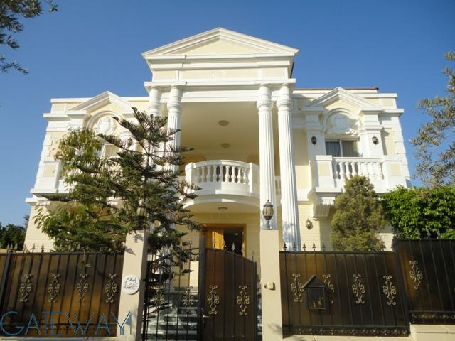 Fully Furnished Villa for Rent in Yasmine Green Land with Private Garden & Swimming Pool.