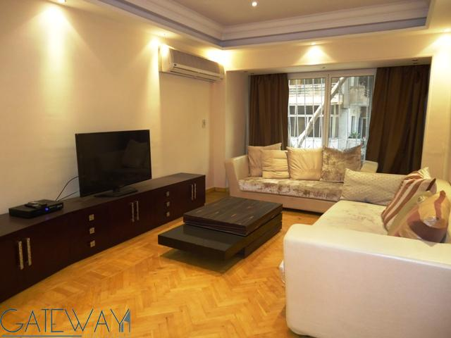 Ground Floor for Rent in Zamalek with Open View.