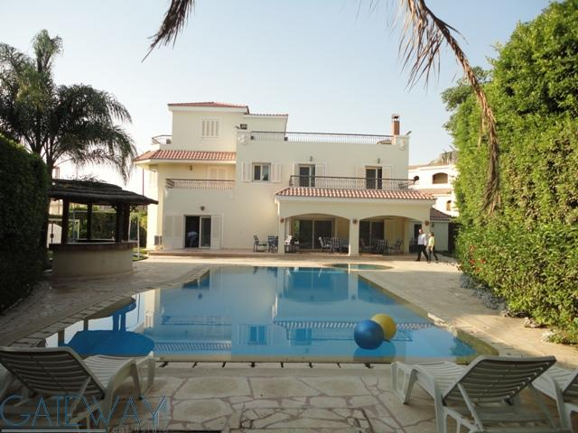 Fully Furnished Villa for Rent in Green Heights Compound with Private Garden & Swimming Pool.