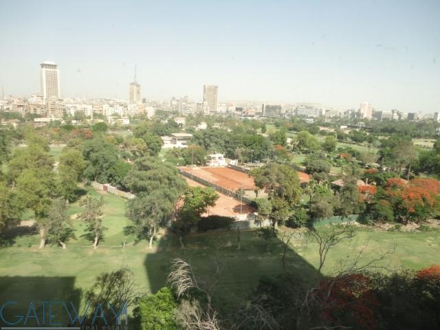 Semi-Furnished Apartment for Rent / Sale in Zamalek with Greens view.