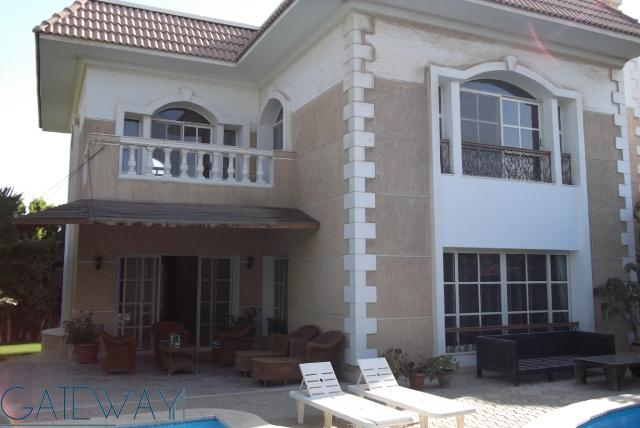 Fully / Semi-Furnished Villa for Rent in Moon Land with Private Garden.