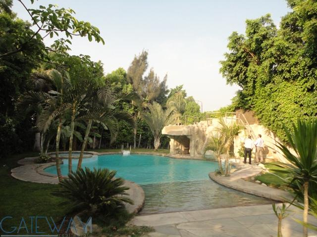 Fully Furnished / Semi-Furnished Villa for Rent in Cairo Alex Road with Private Garden & Swimming Po
