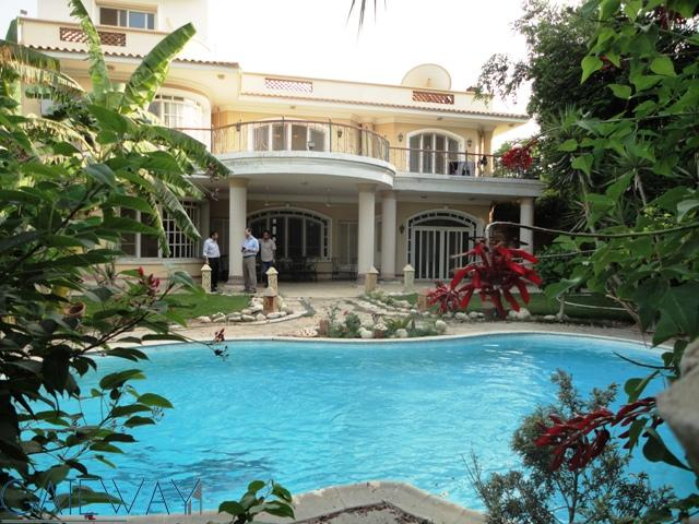 (Ref:3789) Fully Furnished Villa for Rent in Cairo Alex Road
