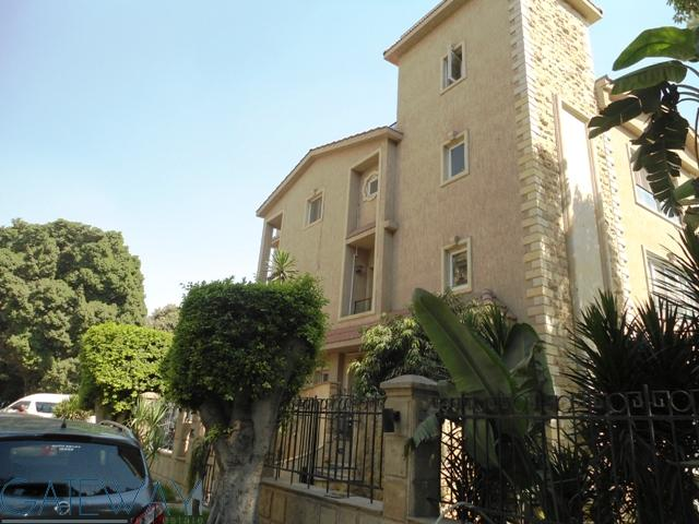 (Ref:4156) Semi-Furnished Villa for Rent in Maadi Degla