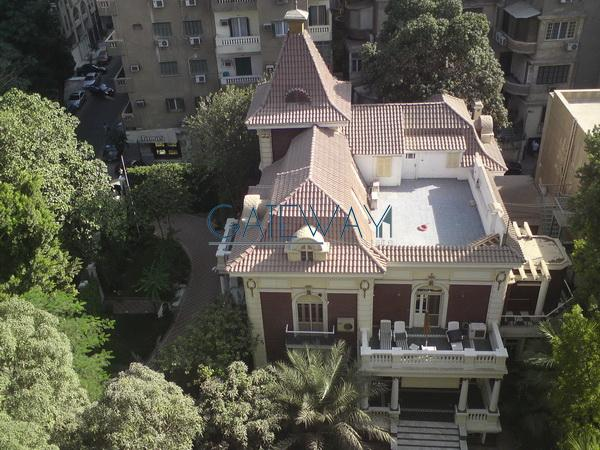 Furnished Villa For Sale In Zamalek With Garden Mls Eg