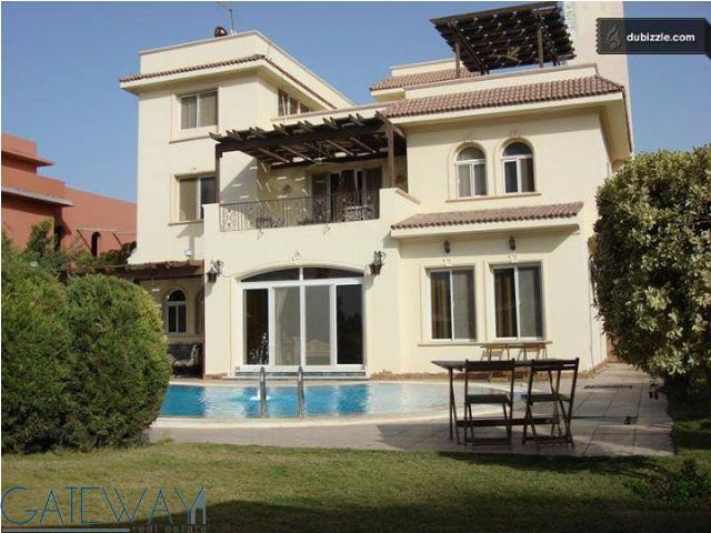(Ref:4369) Furnished Villa for Rent in Golf Solimania with Private Garden