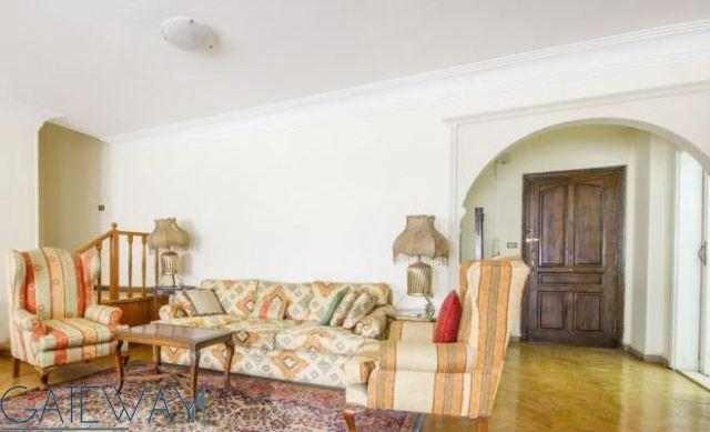 Semi-Furnished Apartment for Sale in Maadi - 185m