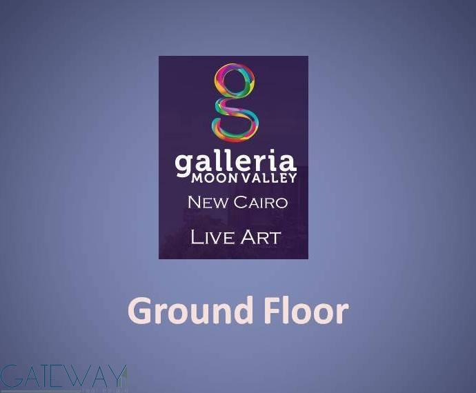 Garden Duplexes, Typical Apartments, Ground Floors for Sale in Galleria Moon Valley - New Cairo.