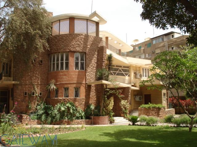 Semi-Furnished Villa for Rent in Maadi Degla with Private Garden