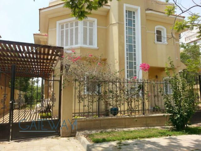 Fully Furnished Villa for Rent in El Yassmine Compound with Private Garden