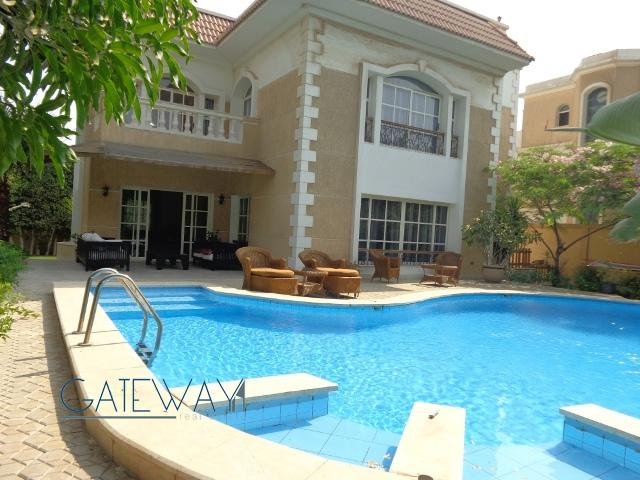 Fully Furnished Villa in Moon Land with Private Garden & Swimming Pool.