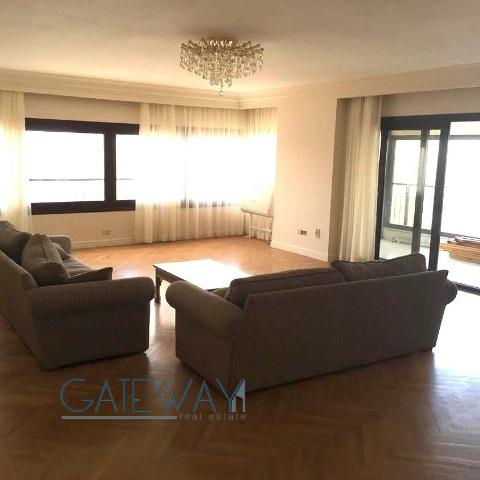 Semi-Furnished Apartment for Rent in Agouza wth Nile View