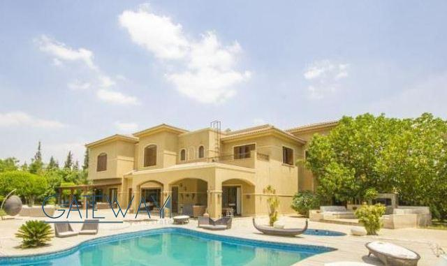 Semi-Furnished Villa for Rent or Sale in Verdi Compound - Cairo Alex Road