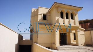 Semi-Finished Villa for Sale in City View Compound - Cairo Alex Road