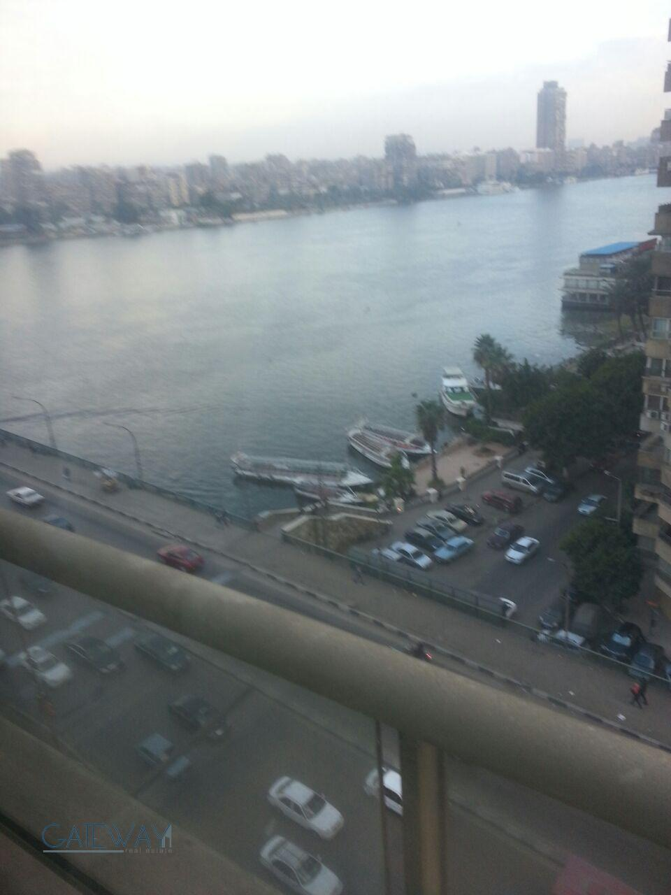 Modern Furnished Apartment for Rent in Giza with Nile View