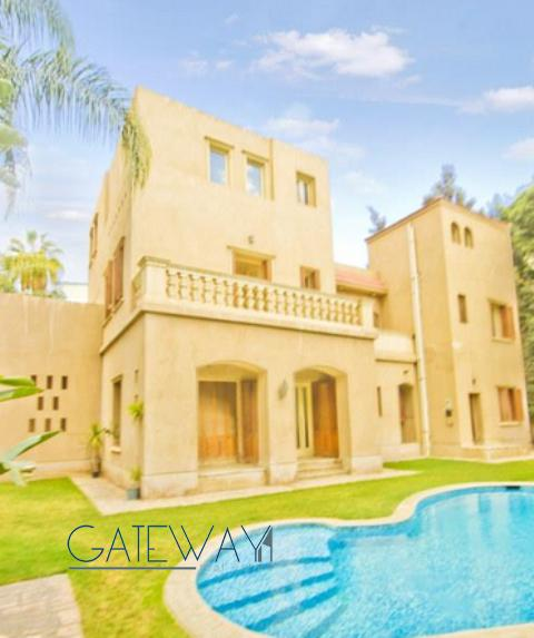 Semi-Furnished Villa for Sale in October