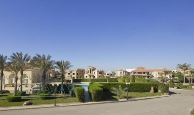 Furnished Villa for Sale in New Cairo with Private Garden & Roof Terrace