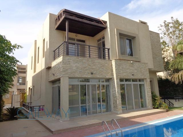 Semi-Furnished Villa for Rent / Sale in Allegria Compound with Private Garden & Swimming Pool