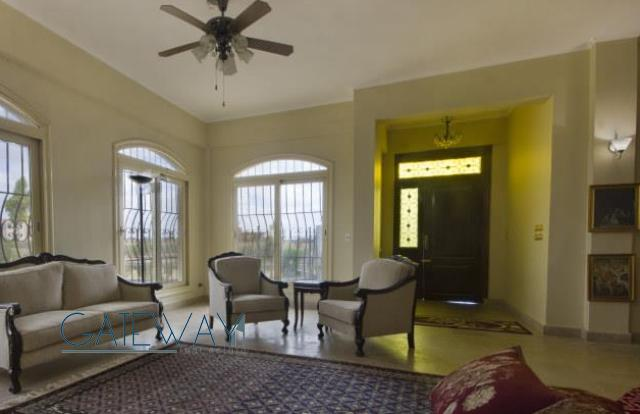 Furnished Villa for Sale in Cairo-Alexandria Road with Private Garden