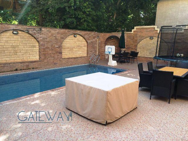 (Ref:5204) Semi-Furnished Villa for Rent in Maadi Sarayat