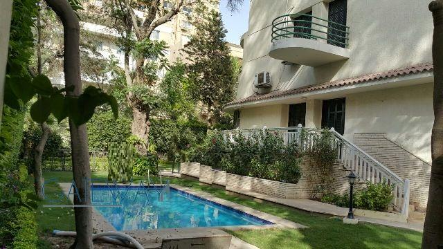 (Ref:5205) Semi-Furnished Villa for Rent in Maadi Sarayat