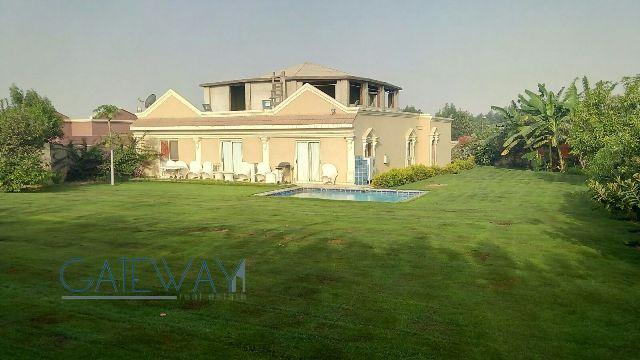 Furnished Villa for Sale in Golf Solimania Compound with Private Garden