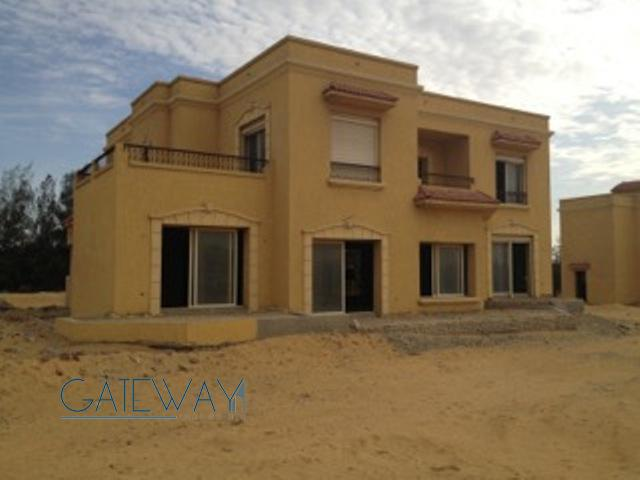 Unfinished Villa for Sale in Wadi El Nakheel Compound with Private Garden