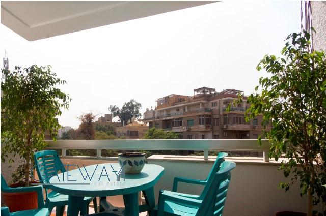 (Ref:5518) Furnished Apartment for Rent in Maadi Sarayat
