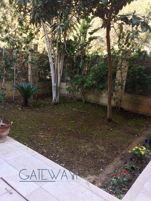 (Ref:5628) Semi-Furnished Ground Floor for Rent in Maadi Sarayat