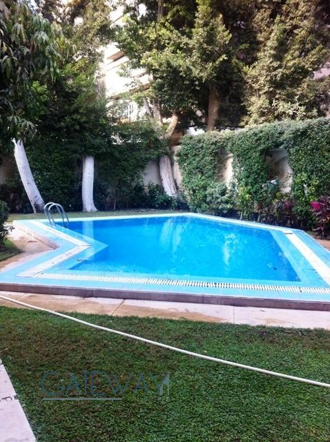 (Ref:5649) Semi-Furnished Villa for Rent in Maadi Sarayat