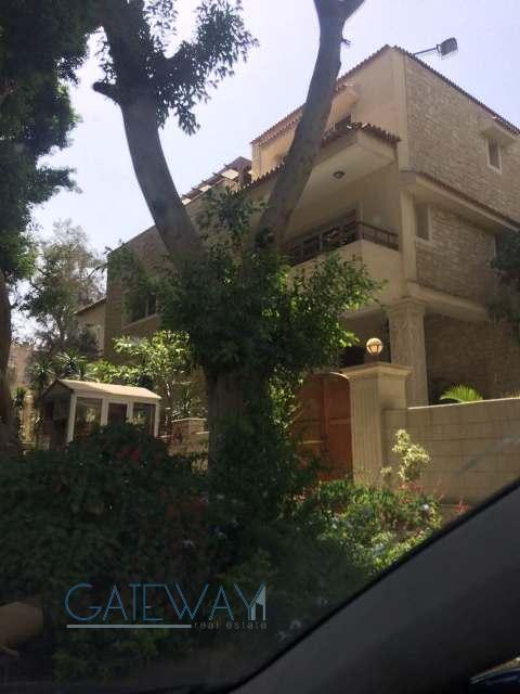 (Ref:5652) Semi-Furnished Villa for Rent in Maadi Sarayat