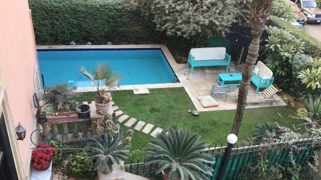 (Ref:6018) Semi-Furnished Ground Floor for Rent in Maadi Sarayat