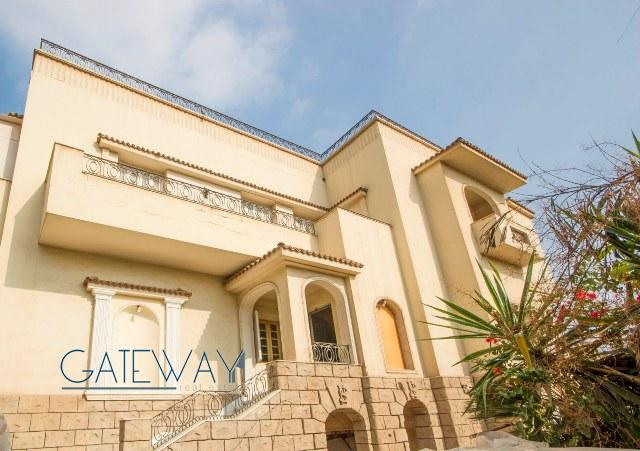 Semi-Furnished Villa for Sale in Heliopolis with Private Garden & Swimming Pool